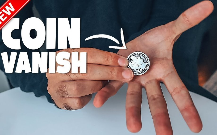 Vanish ANY Coin Instantly! Coin Magic Tutorial