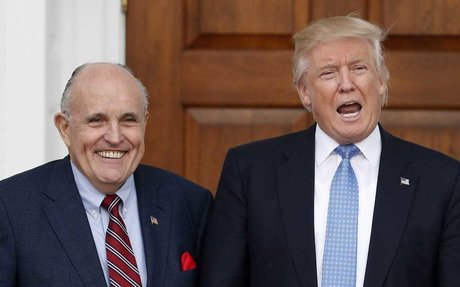 Giuliani tries to clarify comments on Trump's reimbursement of payment to porn star Stormy