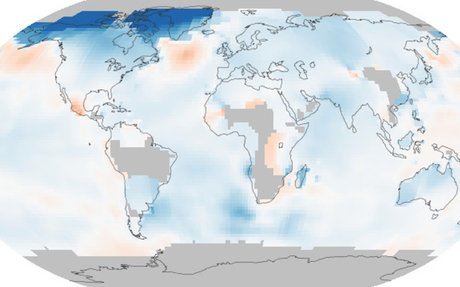 World of Change: Global Temperatures : Feature Articles