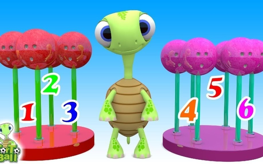 BOWLING BALLS Lollipop Colors Learn Count For Children and Kids | Torto Ball