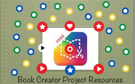Book Creator Project Resources by MathyCathy