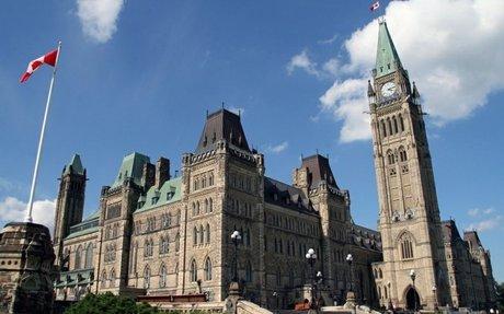 Legislative Building in Ottawa, Ontario