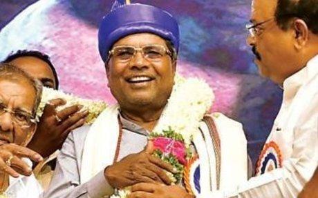 Karnataka: CM Siddaramaiah feted by Lingayats, says he admires Basavanna