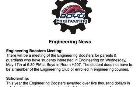 Engineering May Newsletter