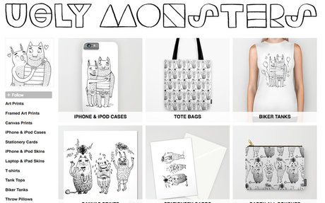 Ugly Monsters | Society6