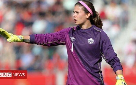 Female footballer barred from men's league