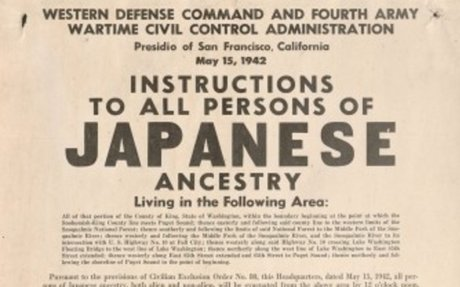 2. Japanese Internment Camps During World War 2 (1942)
