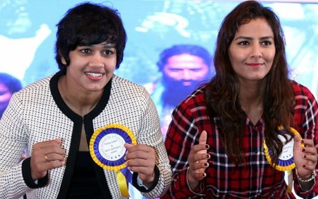 Women need to be celebrated every day: Phogat sisters