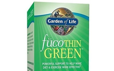 Garden of Life Fucoxanthin Supplements - FucoThin Diet Pill for Weight Loss, 1