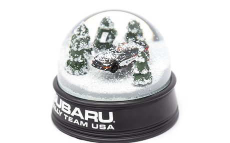 Subaru Rally Snow Globe