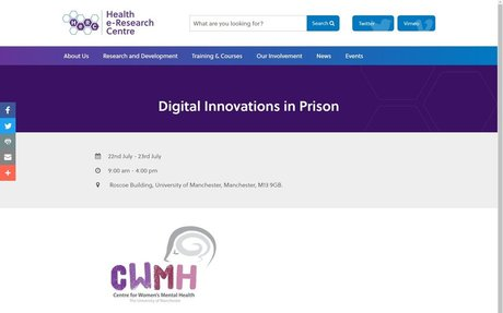 Digital Innovations in Prison Conference