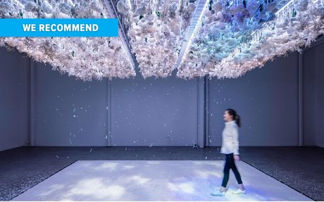 DESIGN // Scented Dinners? This Installation Feels Like Being Inside A Flower Bouquet