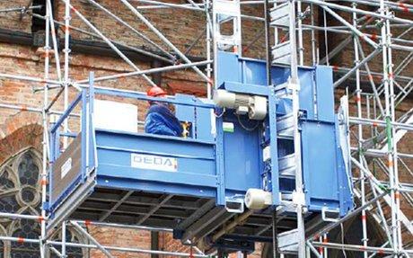 Material Hoists - Builder's Hoists - Scan Rent