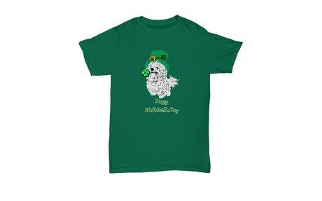 Maltese Dog St.Patrick's Day T-shirt