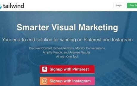 Start free!Pinterest and Instagram Marketing,Scheduling, and Analytics tools with Tailwind