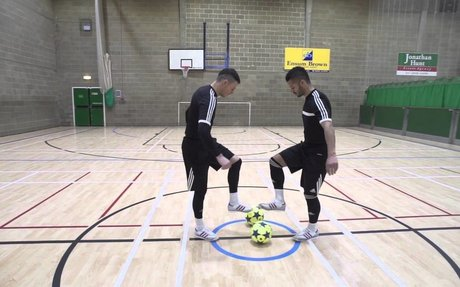 F2Freestylers Practice Session! Crazy Football Skills | Football Freestyle Double Act / Du