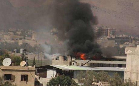 النظام يقصف الزبداني بأكثر من 100 قذيفة خلال ساعة