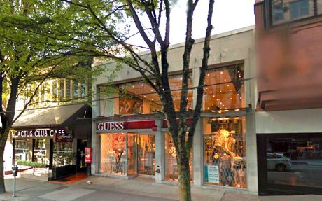 Robson Street Retail Space Seeks Flagship Tenant