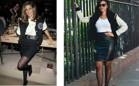 CINDY CRAWFORD 90's INSPIRED LOOK FROM MAKEUP TO FULL OUTFIT