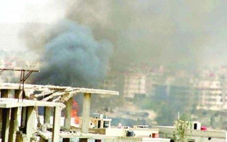 تحضير لهجوم واسع على داريا  واستهداف «خان الشيح» الفلسطيني بـ 16غارة