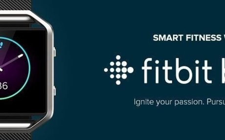 Amazon.com: Fitbit Blaze Smart Fitness Watch, Black, Silver, Large: Health & Personal Care