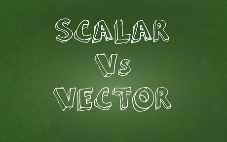 Scalar and Vector Measurements - A simple tutorial answering: what are they?