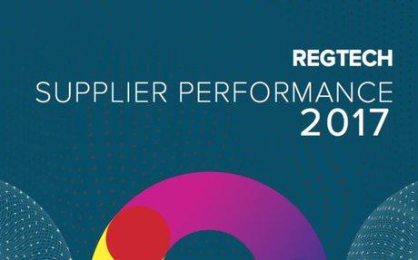 Regtech Supplier Performance Report: ignorance is no longer bliss, it's now criminal off