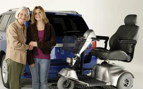 Buy or Rent a Powerchair Lift - RI & MA | Aid 4 Mobility