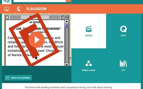 Plagiarism - BrainPOP