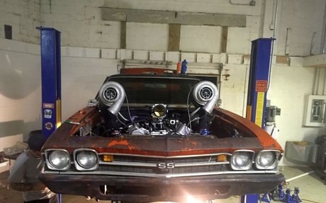 The Australian Chevelle Is Back With a Mean Twin-Turbo Big Block! - Roadkill