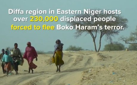 Internet boosts assistance for people displaced by Boko Haram