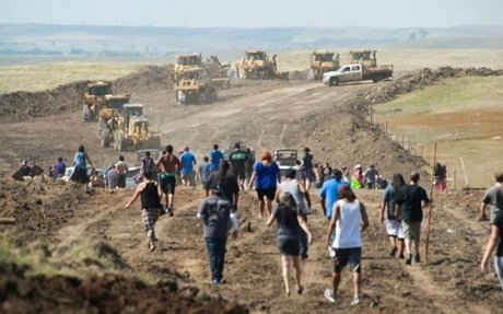 'Is That Not Genocide?' Pipeline Co. Bulldozing Burial Sites Prompts Emergency Motion