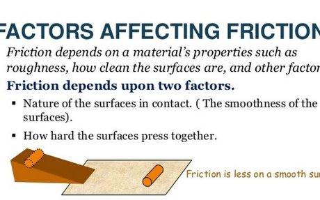 Friction Factors