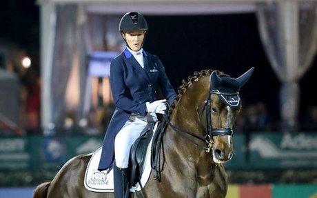 Dressage: Olivia LaGoy-Weltz & Lonoir Win Wellington CDI4* Grand Prix Freestyle