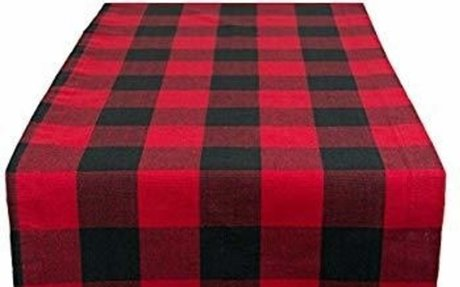 Amazon.com: DII Cotton Buffalo Check Table Runner for Family Dinners or Gatherings, Indoor