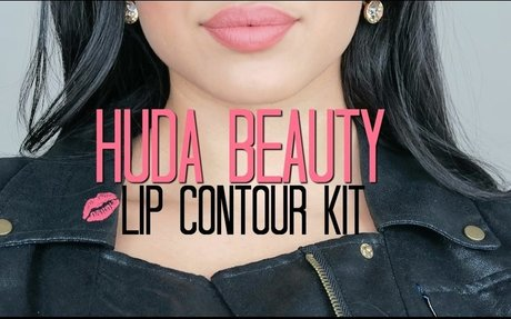 HUDA BEAUTY LIP CONTOUR KIT: DEMONSTRATE/REVIEW/SWATCH