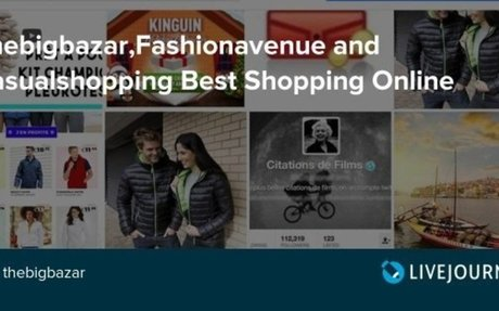 Thebigbazar,Fashionavenue and Casualshopping Best Shopping Online