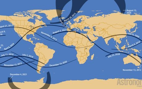 25 facts about the 2017 solar eclipse with Map