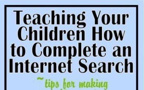 Helping Your Child Learn to Research on the Internet