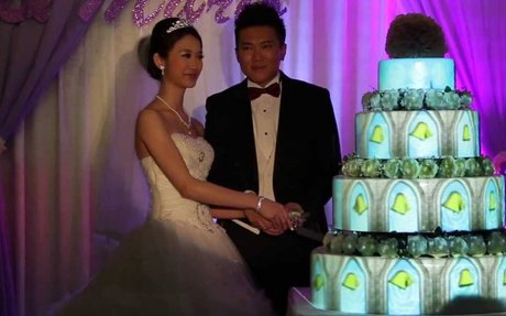 Wedding Cake 3D Mapping