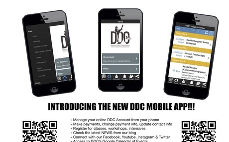 Introducing DDC's New Mobile App! - Denton Dance Conservatory