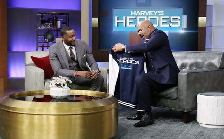 Handshake teacher is a Harvey's Heroes