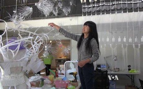 San Francisco Artists Make Art From Trash