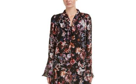 Parker Tie-Front Shift Dress  | eBay