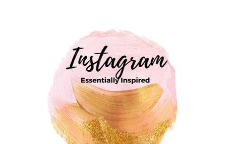 Essentially Inspired Blog on Instagram