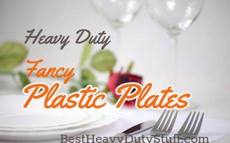 Best Heavy Duty Plastic Plates Reviews - Best Heavy Duty Stuff