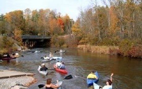 Big Manistee River - Manistee County Tourism - Manistee, Michigan