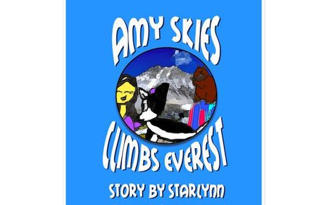 AMY SKIES CLIMBS EVEREST by Starlynn, age 9