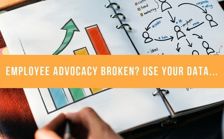 Employee Advocacy Broken? Use Your Data... #OptimisingAdvocacy