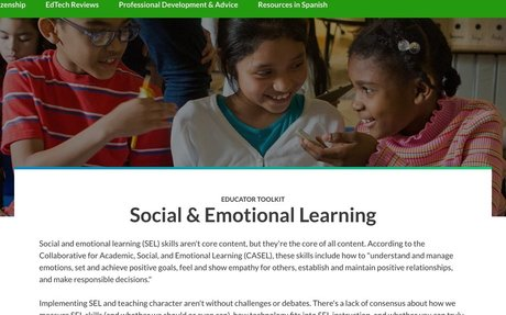 Resources for Social and Emotional Learning